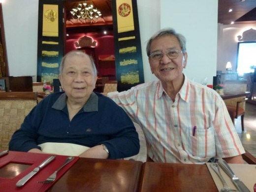 Chin Peng and Koon Yew Yin