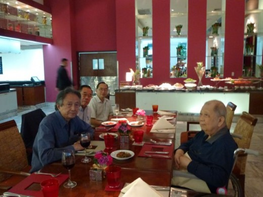 Yap Lim Sen and Chin Peng