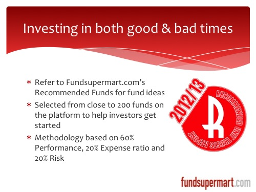 Recommended Funds
