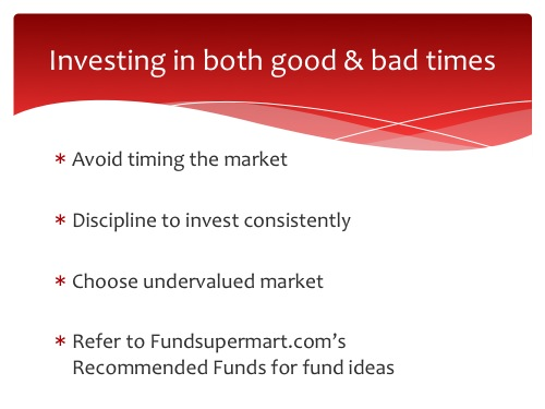 avoid timing the market