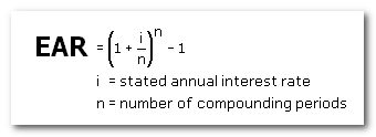 Annual Rate Formula & Calculation of Interest