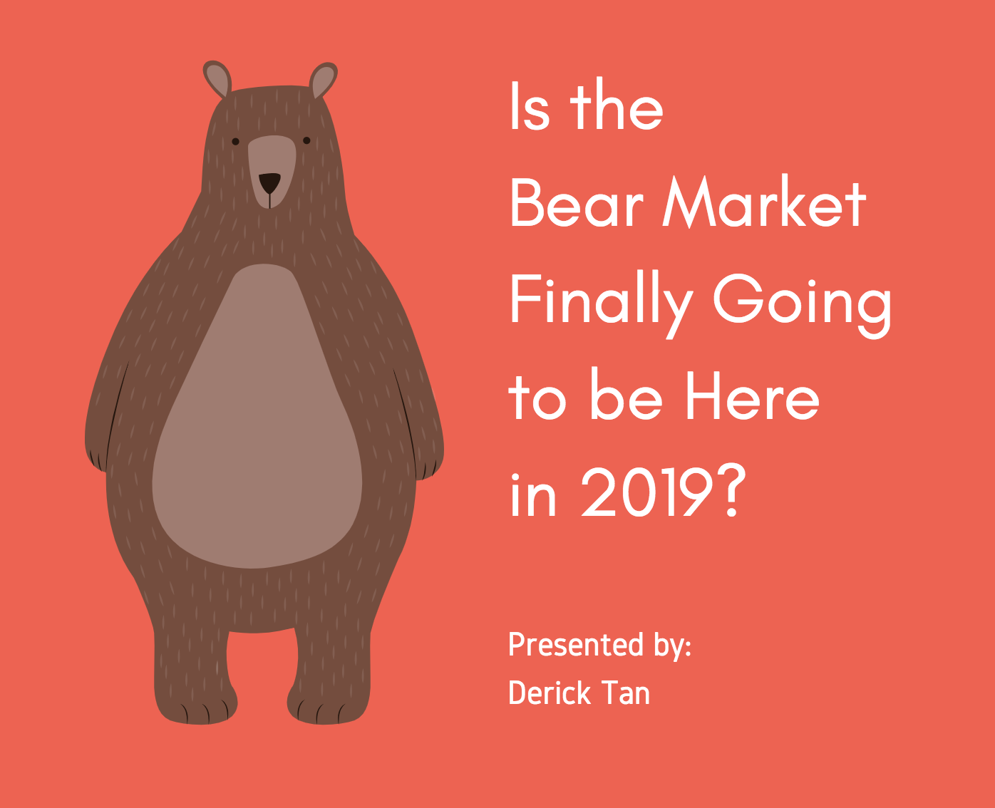 Is the Bear Market Here? Strategic Asset Allocation for 2019