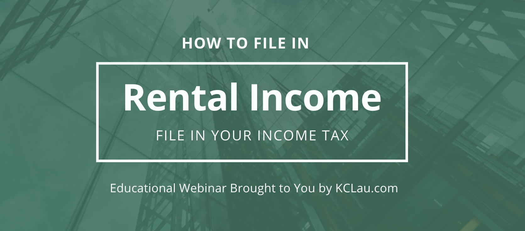How to Compute and File Taxes for your Rental Income