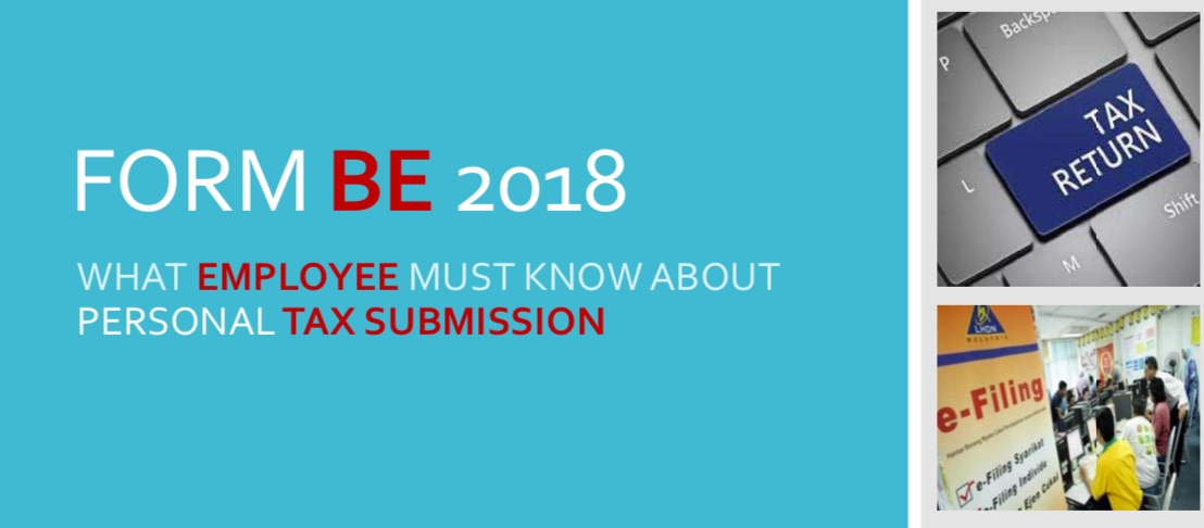 What Employee Must Know about Personal Tax Submission Form BE