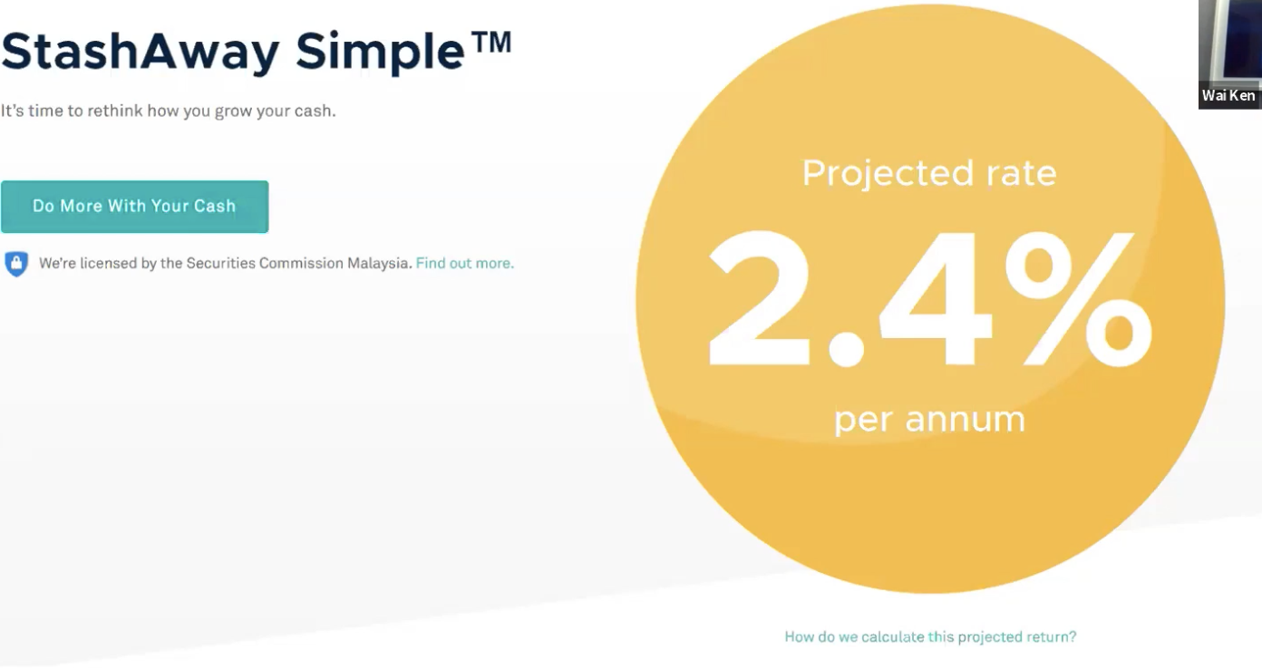 How You Can Earn a Projected Rate of 2.4% with StashAway Simple™?