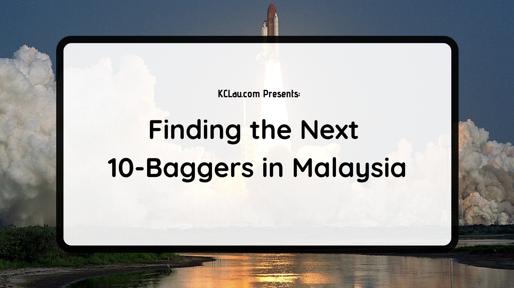 Finding the Next 10-Baggers in Malaysia