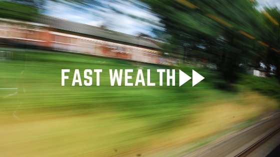 Fast Wealth is Created Exponentially