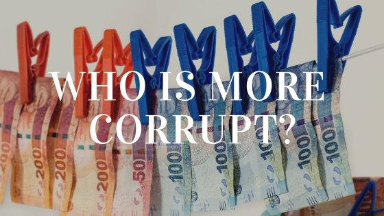 Who Is More Corrupt?