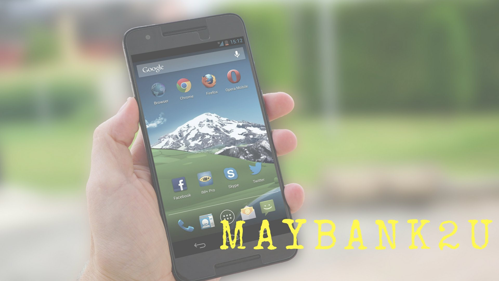 Introducing …The Brand New Maybank2u Mobile App
