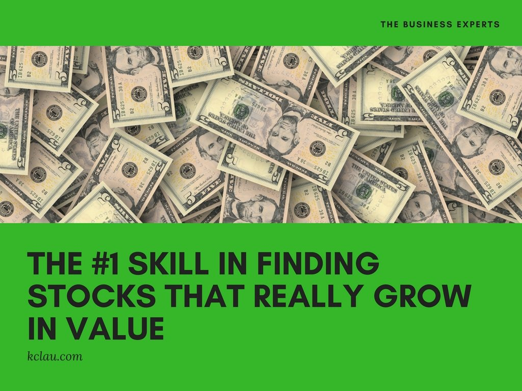 The #1 Skill in Finding Stocks that REALLY Grow in Value