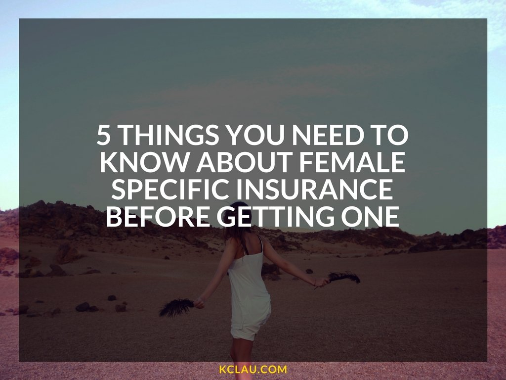 5 Things You Need to Know about  Female Specific Insurance before getting one