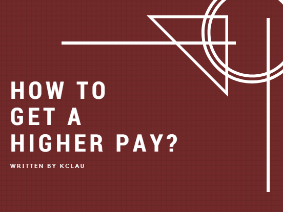 How to Get a Higher Pay?
