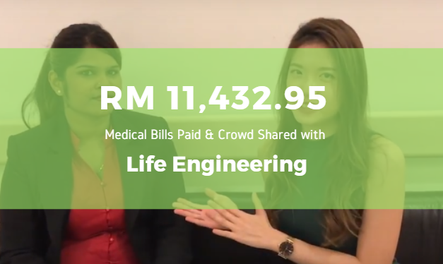 How Life Engineering Helped Rajini to Pay RM 11,432.95 in Medical Bills