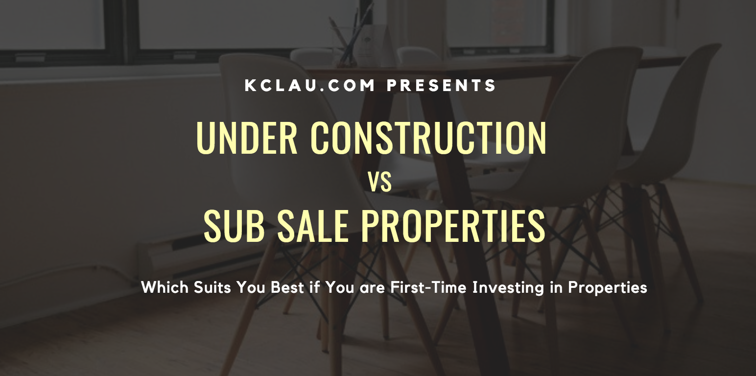 Under Construction vs Sub Sale Properties