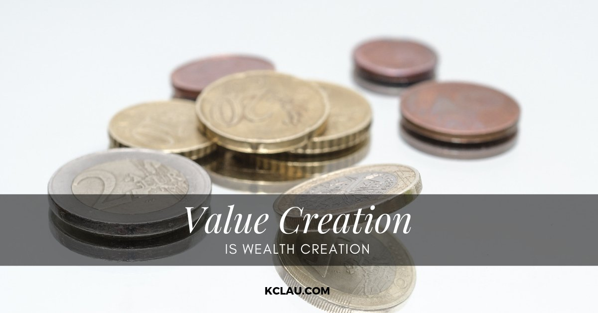 Value Creation is Wealth Creation