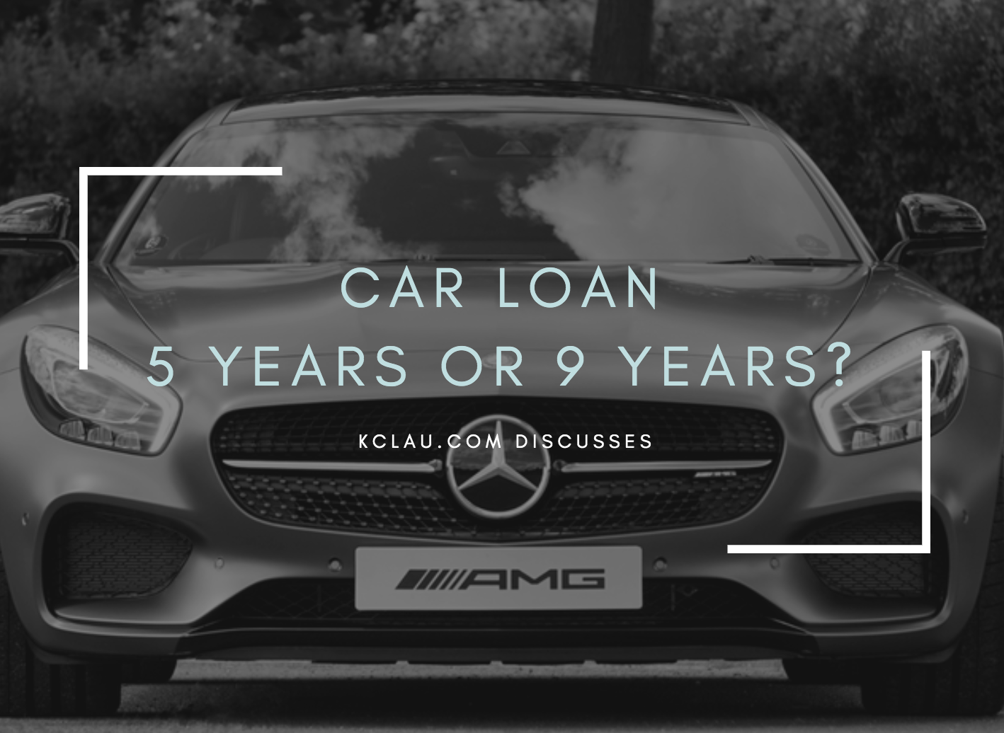 Should I Take a 5-Year Car Loan or a 9-Year Car Loan?
