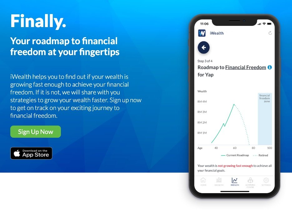 iWealth – the 'Waze' to Your Financial Freedom