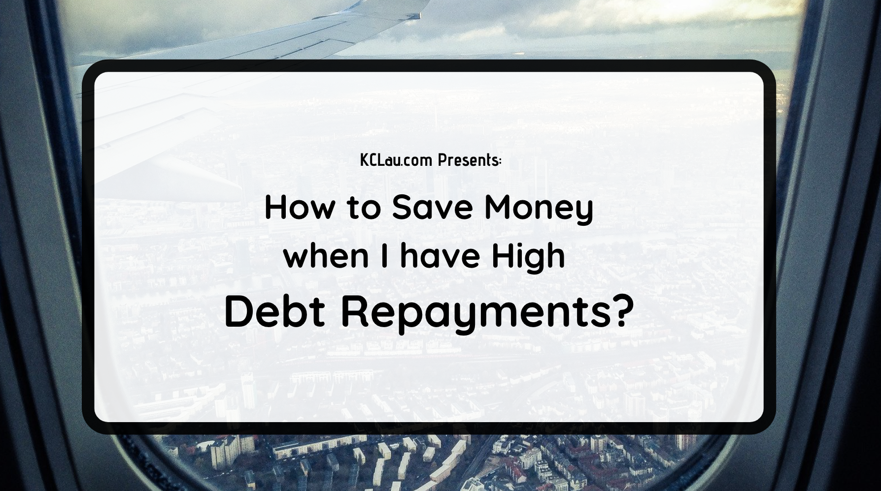 How to Save Money When I Have High Debt Repayments?
