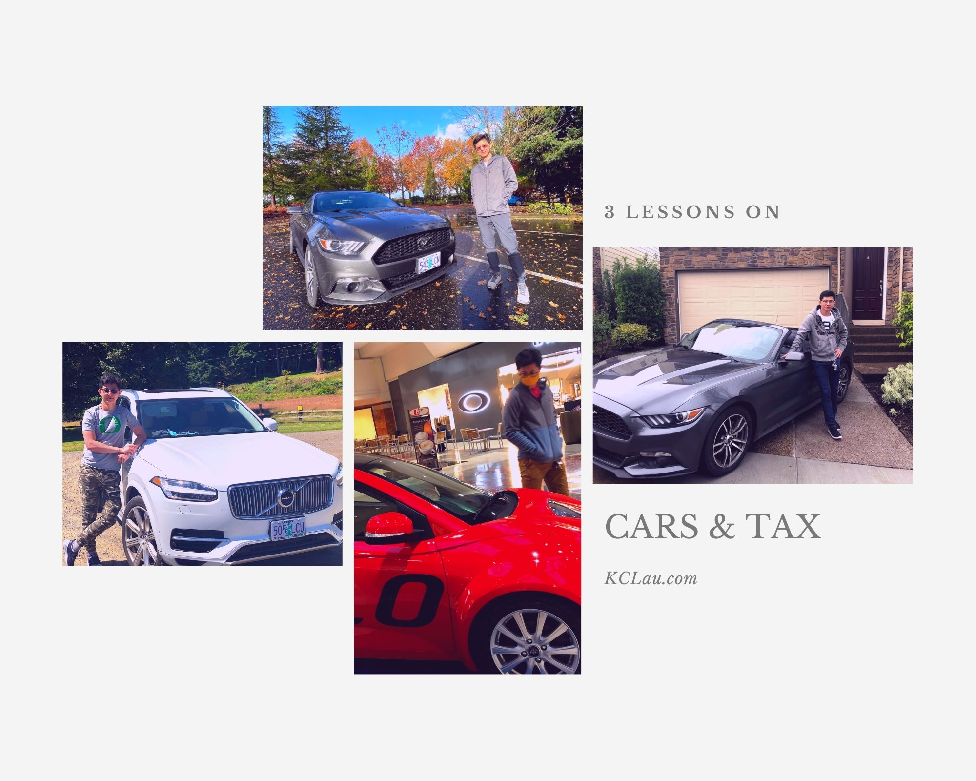 3 Lessons on Cars and Tax