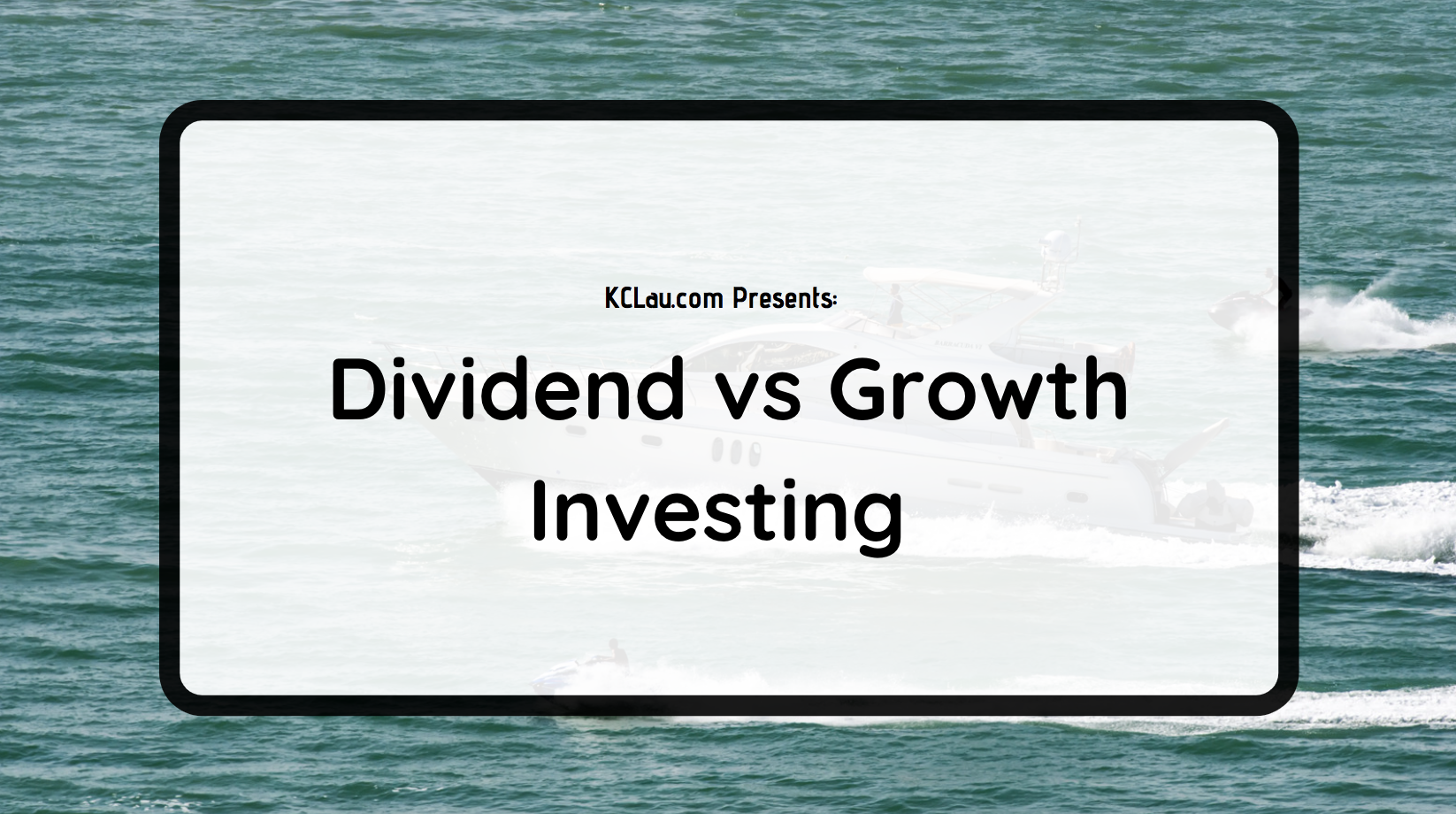 Dividend vs Growth Investing